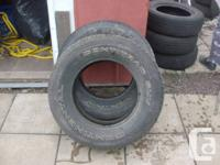 USED TIRES           TWO USED TIRES CONTINENTAL