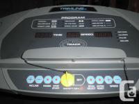 I have a Treadmill for sale. It is a Trimline and you