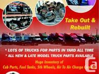 We offer made use of truck components. Bunches of
