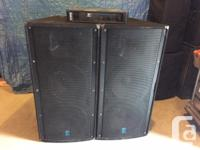 For sale are a pair of Yorkville Elite E215 1000 W