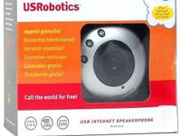 US Robotics hands free USB speaker phone, designed for