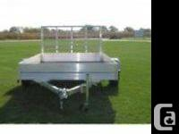 2009 sts aluminum trailer,, super light and heavy
