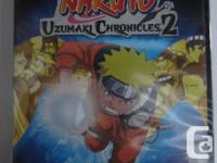Naruto: Uzumaki Chronicles 2 - *SEALED*  Condition: