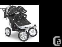 Black Valco Baby Twin Tri Mode EX Stroller in good