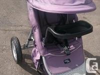 EUC Jogging stroller, has toddler seat to make it a