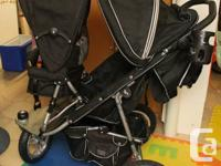 Valco Run About Trimode Stroller with Joey seat and its