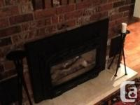 Valor Version 737 XP. Propane fireplace Insert.