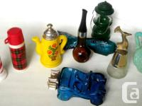 CLASSIC AVON PERFUME CONTAINERS include:.  Piping