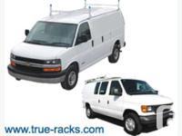 Organize your Van with True Racks Equipment ! * Most