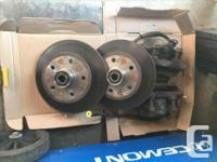 I recently replaced my vanagon's stock brake setup with
