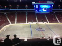 Saturday November 23 Vancouver Canucks versus Chicago
