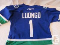 This is for a Vancouver Canuks official NHL Jersey. It