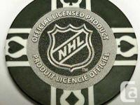VANCOUVER Canucks 11,5 g clay filled poker chip