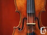Fine concert violins, violas, cellos & bows for all