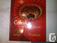 1) Calculus an applied approach, 8th edition, LARSON -