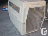 A used dog/pet provider:. vari kennel ultra-- large pet