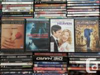 We carry a large selection of used DVDs including