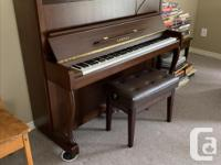 I have a Heintzman player piano - $250; a Hohner