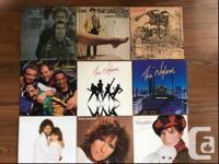 Choose from 35 LPs - $3 each, 4 for $10, 10 for $20 -