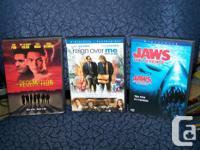 Various DVD titles as follows ... Bourne Identification