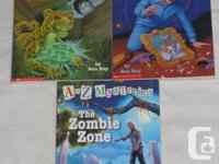 These JUNIOR Chapterbooks are in VERY GOOD to ECXELLENT