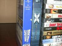 We have numerous DVD movies for sale asking $5.00 each