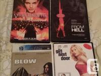 I have various DVDs for sale. Please contact me with
