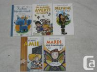 These FRENCH JUNIOR Chapterbooks are in EXCELLENT