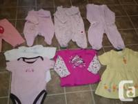 Hi me and my wife are selling our baby's clothes that