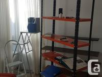 We have various metal, MDF, and real wood shelves to