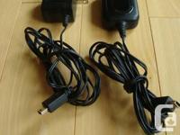 Various Motorola A/C Power Adaptors & Motorola battery