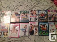 Various Movies to sell. 5$ each or can arrange a