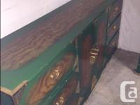 Unknown age, oriental style furniture pieces for sale.