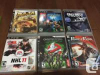 - Call of Duty Ghosts - 15$ - NHL 11- 10$