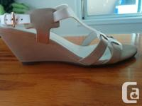 $20 / pair (obo) All size 8 Black wedge strappy sandals