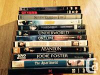 Various used dvd's... $5 each or 3 for $10 (Except for