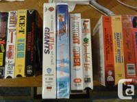 I have a bunch of VHS Movies, some Brand New! - Titanic