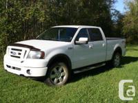 2008 Ford F-150 5.4 Litre V8 4x4. 118500km. Packed.
