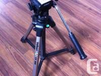 I have a Velbon CX 686 photo/video tripod for sale. In