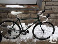Rebuilt velosport hybrid into a solid tourer. Top of