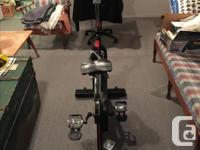 Velo Pro Bladez Spin Bike Gently used and in great
