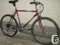 Venture - Ridge Runner with 26 inch tires This bike,