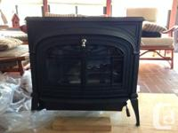 Brand New, Never used Vermont Castings Wood Stove.