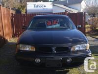 Make Pontiac Colour black Trans Automatic kms 257000