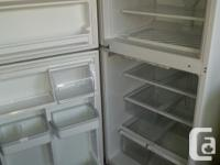 Nice fridge in great working order. Comes with a 2