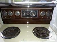 This stove works great and is very clean inside and