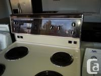 This stove is in amazing condition and comes with a 2