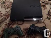 Excellent condition SLIM PS3 250 GB, kept very clean,