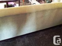 Nice green couch in excellent condition. Lightly used,