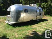 1958 Airstream exterior in good shape. Interiors been